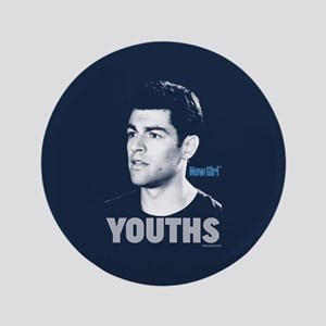 New Girl Youths Button