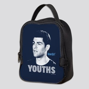 New Girl Youths Neoprene Lunch Bag