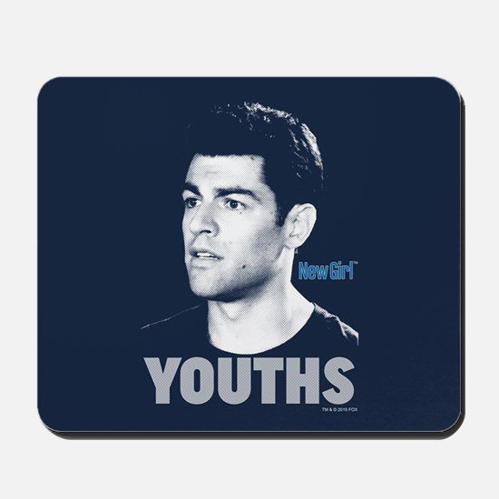 New Girl Youths Mousepad
