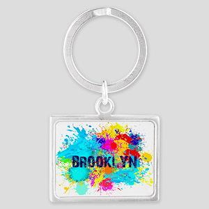 BROOKLUN NY SPLASH Landscape Keychain