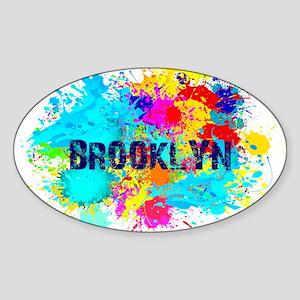 BROOKLUN NY SPLASH Sticker