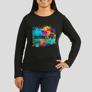 BROOKLUN NY SPLASH Long Sleeve T-Shirt