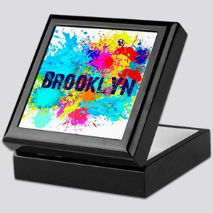 BROOKLUN NY SPLASH Keepsake Box