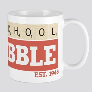 Old School Scrabble 11 oz Ceramic Mug