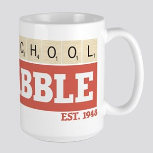 Old School Scrabble 15 oz Ceramic Large Mug