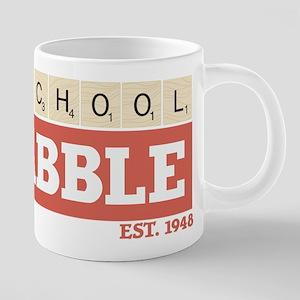 Old School Scrabble 20 oz Ceramic Mega Mug