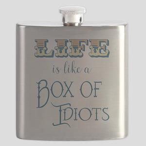 Box of Idiots Flask