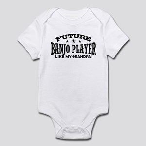 Future Banjo Player Like My Grandp Infant Bodysuit