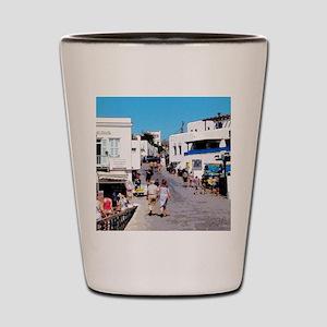 Greek Stroll Shot Glass