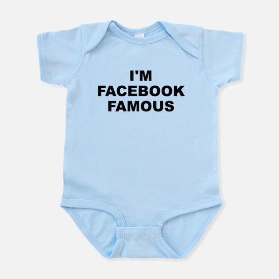 I'm Facebook Famous Light Infant Body Suit