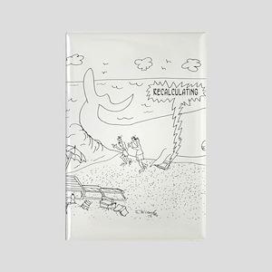 Whale Cartoon 9283 Rectangle Magnet
