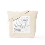Whale Cartoon 9283 Tote Bag