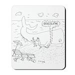 Whale Cartoon 9283 Mousepad