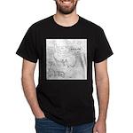 Whale Cartoon 9283 Dark T-Shirt