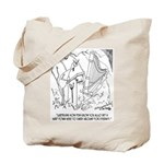 Harp Cartoon 6525 Tote Bag