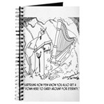 Harp Cartoon 6525 Journal