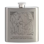 Harp Cartoon 6525 Flask