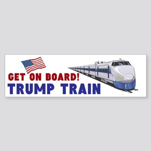 Trump Train (bumper) Bumper Sticker