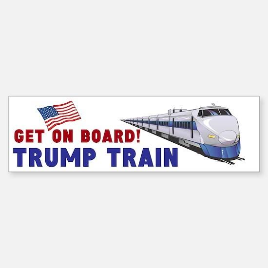 Trump Train (bumper) Bumper Car Car Sticker