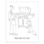 Dog Cartoon 9271 Small Poster