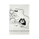 Snake Cartoon 1374 Rectangle Magnet