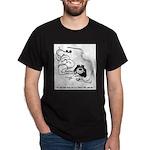 Snake Cartoon 1374 Dark T-Shirt