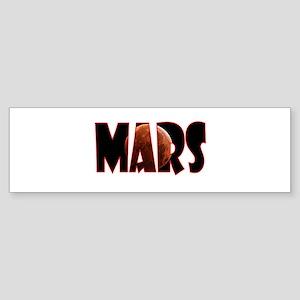 Mars Bumper Sticker