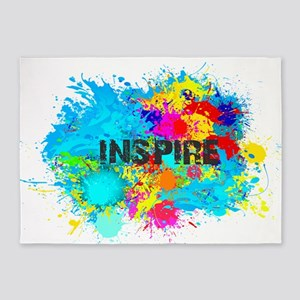 INSPIRE SPLASH 5'x7'Area Rug