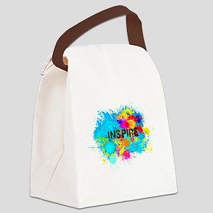 INSPIRE SPLASH Canvas Lunch Bag