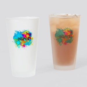INSPIRE SPLASH Drinking Glass