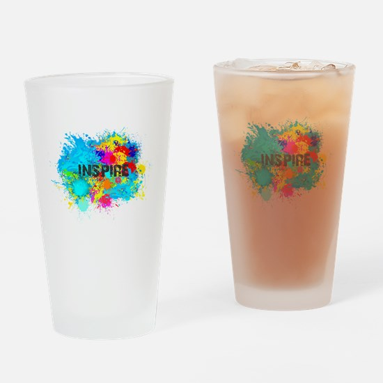 INSPIRE SPLASH Drinking Glass