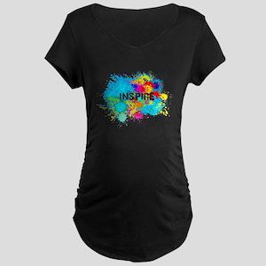 INSPIRE SPLASH Maternity T-Shirt