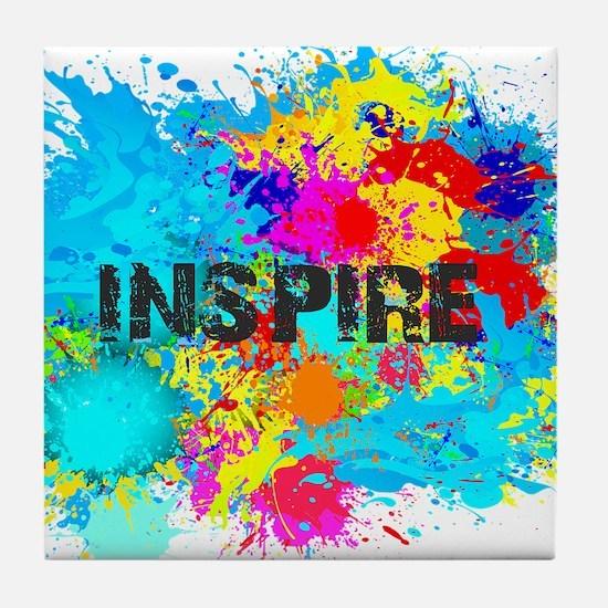 INSPIRE SPLASH Tile Coaster