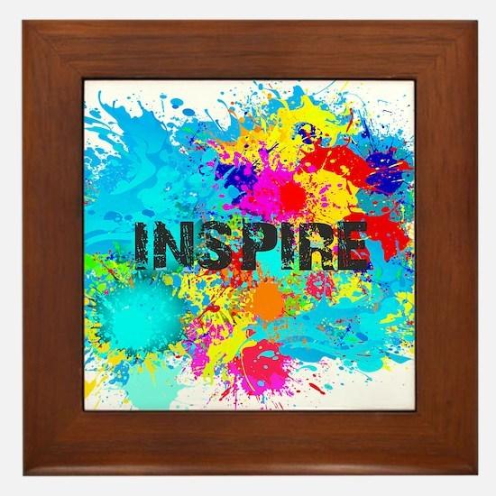 INSPIRE SPLASH Framed Tile