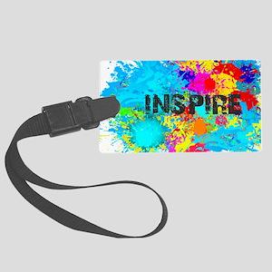 INSPIRE SPLASH Large Luggage Tag