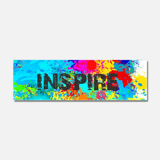 INSPIRE SPLASH Car Magnet 10 x 3