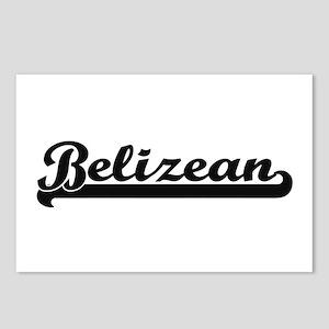 Belizean Classic Retro De Postcards (Package of 8)