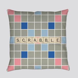 Scrabble Tiles Everyday Pillow