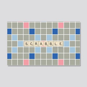 Scrabble Tiles 20x12 Wall Decal