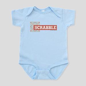 Scrabble Tiles Baby Light Bodysuit