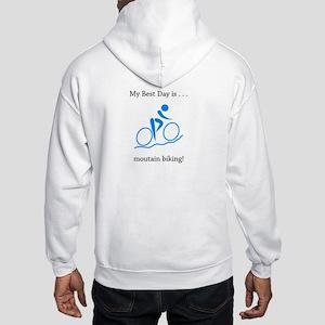 Best Day Mountain Biking Gifts Hoodie