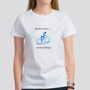 Best Day Mountain Biking Gifts T-Shirt