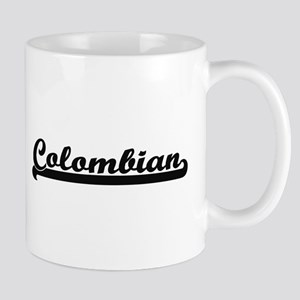 Colombian Classic Retro Design Mugs