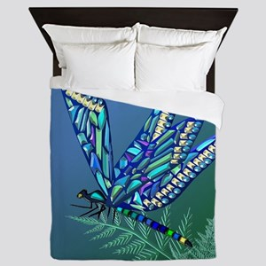 Jewel Dragonfly Queen Duvet