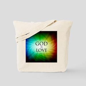 Love Is God Tote Bag