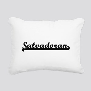 Salvadoran Classic Retro Rectangular Canvas Pillow
