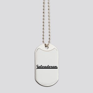 Salvadoran Classic Retro Design Dog Tags