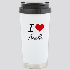 I Love Arielle artistic Stainless Steel Travel Mug