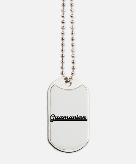 Guamanian Classic Retro Design Dog Tags