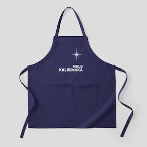 Mele Kalikimaka Apron (dark)